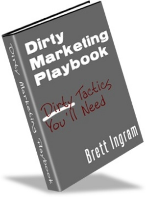 Product picture Dirty Marketing Playbook-How To Market Your Website